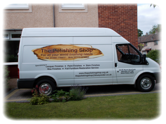 The Polishing Shop Van